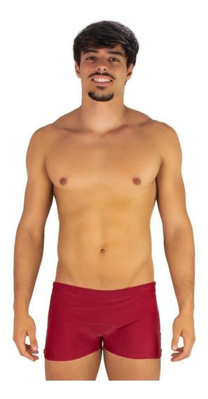 Kit 4 Sunga Masculina Boxer Praia Short Adulto Poliamida