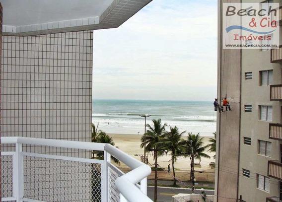 Vista-mar, 3 Dorms, 2 Vagas, Ocian, Praia Grande, Vap00653