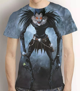 Camisa Anime Death Note Camiseta Ryuk Estampa Total 0
