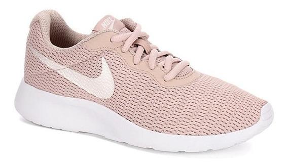 Tenis Nike Modelo. 700798 Tanjun Beige De Mujer / H