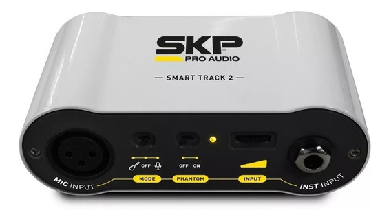 Interface De Áudio Móvel Skp Smart Track 2 - Ios E Android