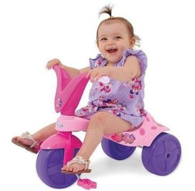 Brinquedo Triciclo Velotrol Infantil - Pantera Menina