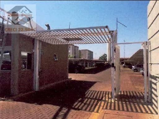 Apartamento Com 2 Dormitórios À Venda, 43 M² Por R$ 69.255,99 - Jardim Santa Marta - Sertãozinho/sp - Ap4270