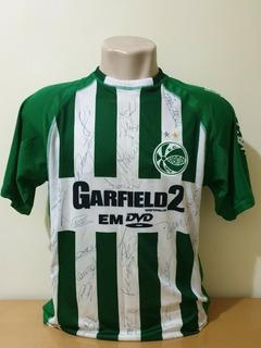 Camisa Do Juventude Mar Um Sports Garfield #7 Gg Autografada