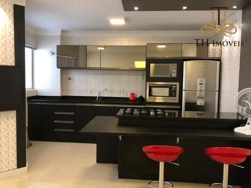 Apartamento Reformado E Mobiliado De 1 Dormitório, Na Avenida Central, 01 Vaga Privativa De Garagem,  Em Balneário Camboriú/sc - R$480.000,00 - Ap0051