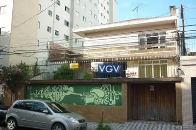 Casa Residencial Para Locação, Vila Parque Jabaquara, São Paulo - Ca0184. - Ca0184