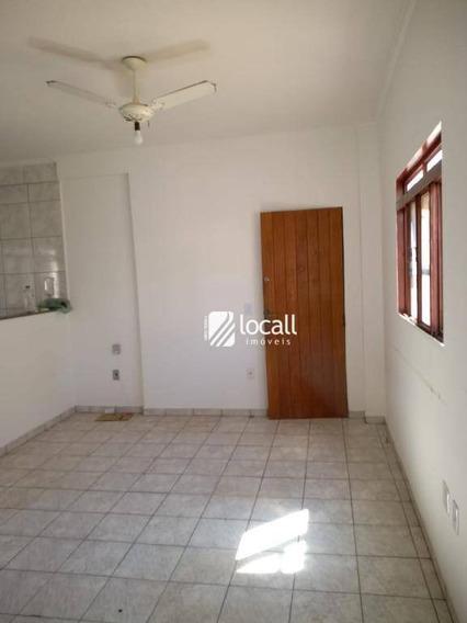Apartamento Com 1 Dormitório Para Alugar, 27 M² Por R$ 600/mês - Jardim Panorama - São José Do Rio Preto/sp - Ap1959