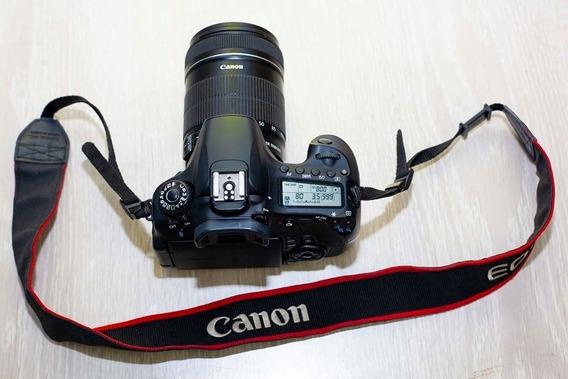 Câmera Canon 60d / Lente 18 135 Mm