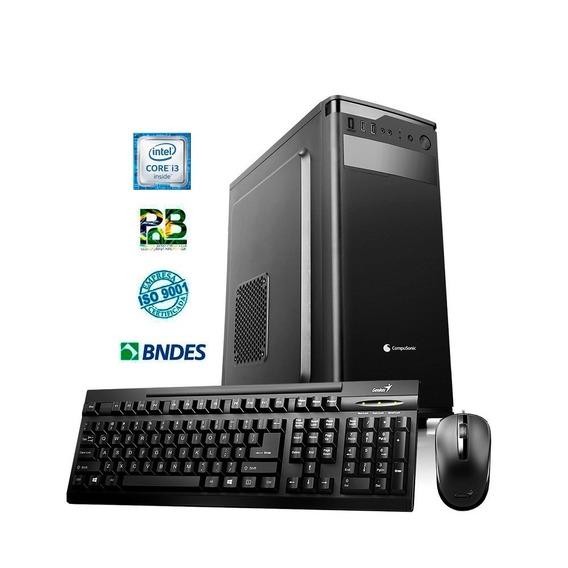 Computador Compusonic Asr H310 I3 8100 4gb Ddr4 1tb