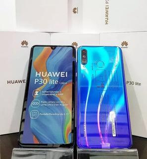 Huawei P30 Lite 128gb + Mica Y Estuche Homologado Tienda Fis