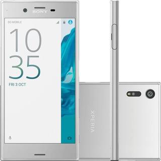 Smartphone Xperia Xz F8331 3gb 32gb Prata C/ Defeito Câmera