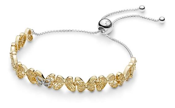 Pulseira Borboletas Prata 925 Shine Pandora