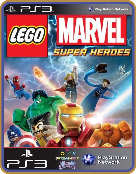 Lego Super Heroes Ps3 ,psn Jogo Completo Pronta Entrega