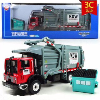 Camion Basurero Escala 1:24 No Caterpillar Metal Perco