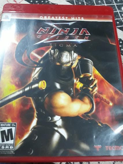 Jogo Ps3 Ninja Gaiden