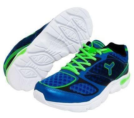 Tenis Tryon Swift Corrida Azul Verde
