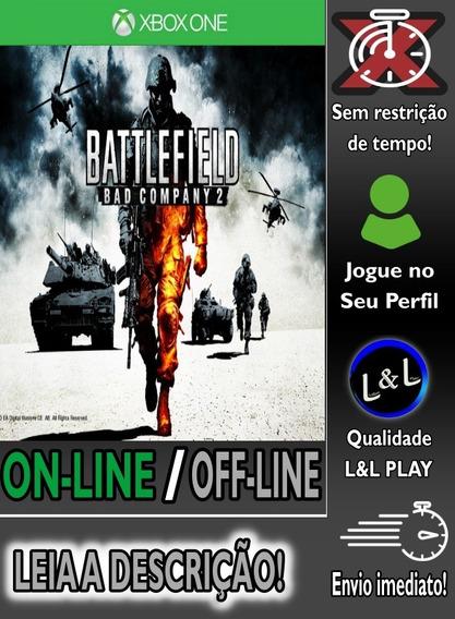 Battlefield Bad Company 2 Xbox One Digital + Jogo Brinde