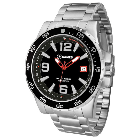 Relógio X-games Masculino Xteel Prata Xmss1043-p2sx