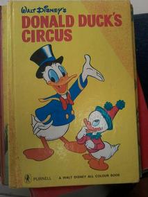 Livro Ilustrado Donald Duck