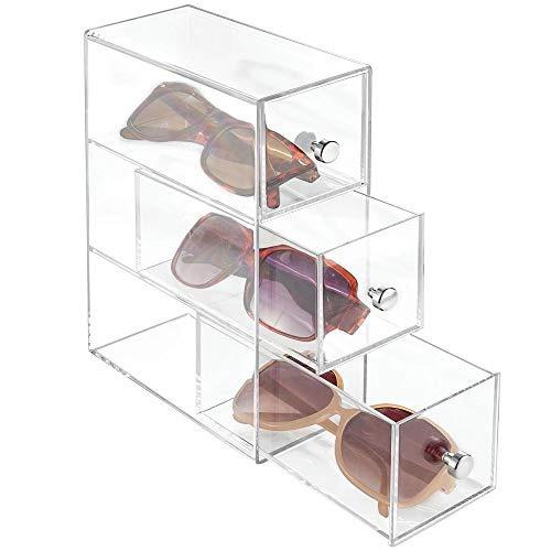 a5e88dc716 Mdesign Apilables Gafas Organizador Soporte Transparente - $ 200,000.00 en  Mercado Libre
