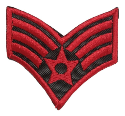Parches O Apliques Bordados Militares X 3 Unid.  Ailicec