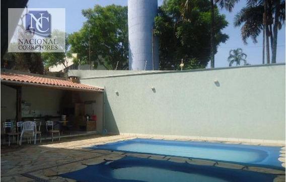 Sobrado Com 3 Dormitórios À Venda, 275 M² Por R$ 700.000 - Vila Alto De Santo André - Santo André/sp - So1478