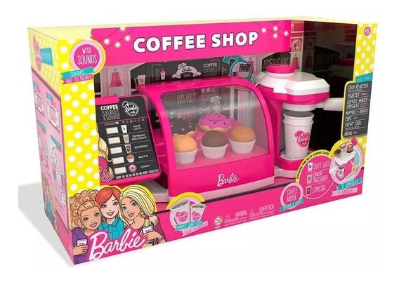 Caixa Cafeteria Fabulosa Da Barbie - Fun 8169-9