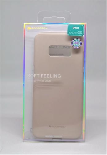 Funda Galaxy S8 Mercury Goospery Soft Feeling Beige