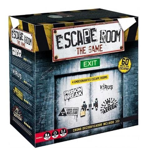 Imagen 1 de 10 de Juego De Mesa Sala De Escape Room Español Original Ingenio