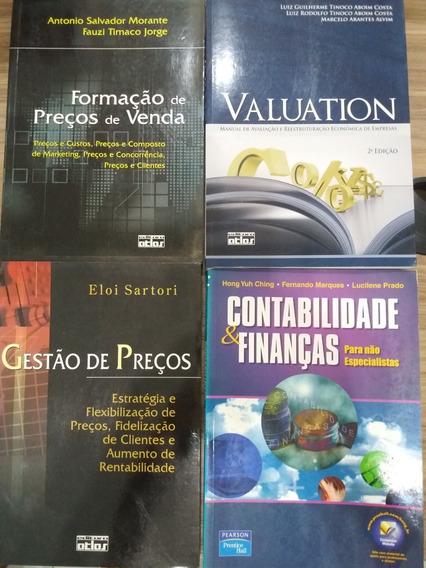 4 Livros Finanças Empresariais E Preços De Vendas