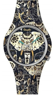 Doodle Watch Door002- Asian Elephaant- Oriental