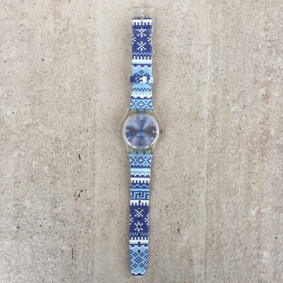Relógio Swatch The Originals Cold Kiss Azul Ge401