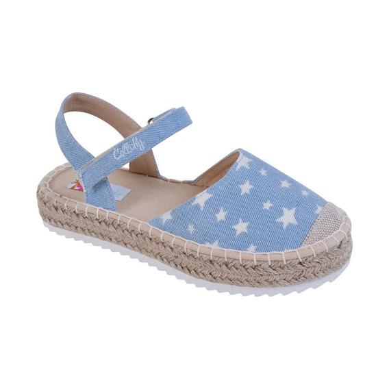 Alpargata Playa Estrellas Azul Girl Colloky