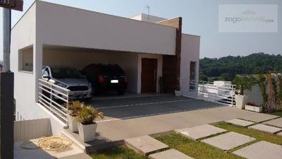 Casa Em Condomínio A Venda Em Bragança Paulista, Condomínio Villa Real Bragança, 3 Dormitórios, 1 Suíte, 3 Banheiros, 4 Vagas - Ca-281