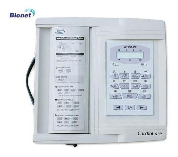 Eletrocardiógrafo Ecg 12 Canais - Bionet - Cardiocare 2000