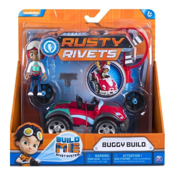 Rusty Rivets Kart Buggy Build Rojo