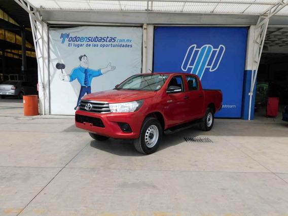 Toyota Hilux 2017 Doble Cabina Base Man