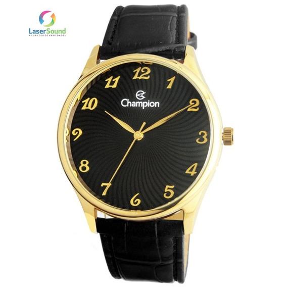 Relógio Champion Masculino Cn20551p, C/ Garantia E Nf