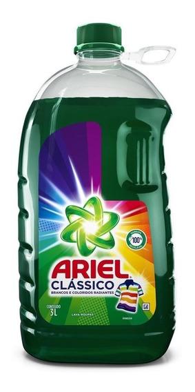 Lava Roupas Líquido Ariel Clássico 3l