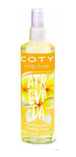 Body Fresh Splash Coty Atrevida X 200ml