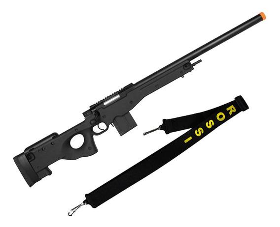 Rifle Airsoft Spring Sniper Cyma L96 Cm.703bk + Bandoleira