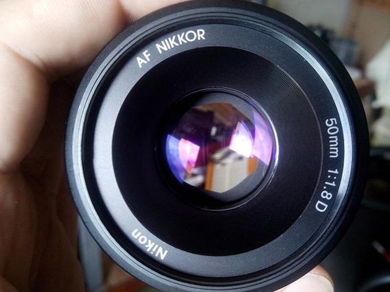 Lente 50mm1.8 D Nikon