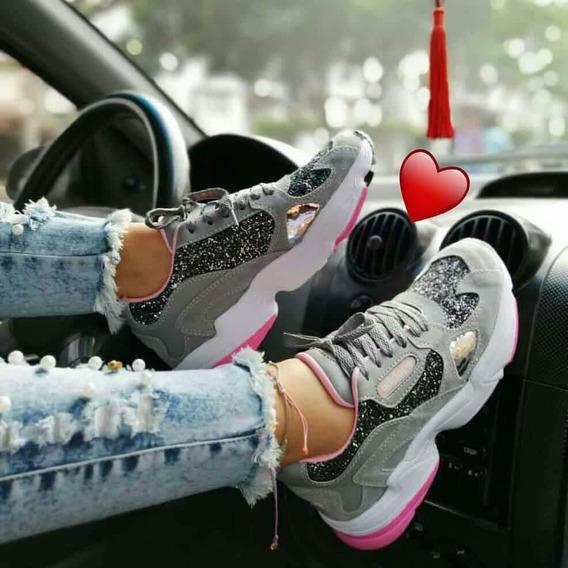 Zapatos Calzado Deportivo De Dama Excelente Calidad
