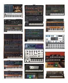 Arturia V Collection + Korg Leganci Pianos Sintetizadores