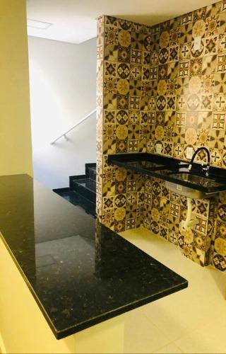 Cobertura Com 2 Dormitórios À Venda, 100 M² - Parque Novo Oratório - Santo André/sp - Co2724