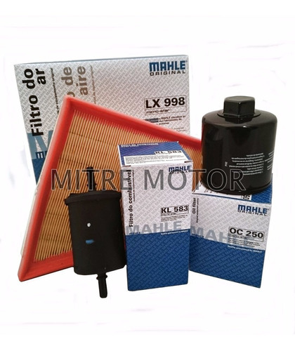 Kit Filtros Vw Fox 1.6 8v Aceite + Aire + Combustible