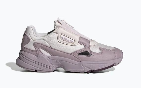Zapatillas adidas Falcon Zip Lilas De Mujer