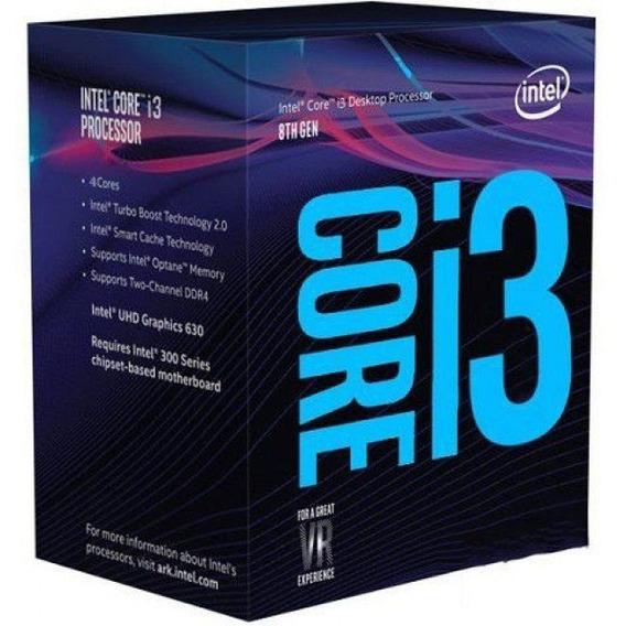 Processador Intel 1151p Core I3 8100 3.6ghz 6mb
