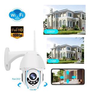 Camara Vigilancia Domo Wifi Exterior 1080p Cctv Seguridad