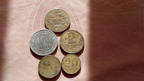 Moedas Antigas 1889/1927/1948/1945